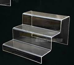 Plastic Stands For Display 100 Step Acrylic Display Product Retail Display Counter Stand Large 24