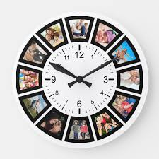 large wall clocks add charm and style