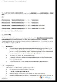 Free Online Business Partnership Agreement Template ...