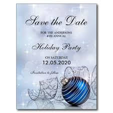 Christmas Party Save The Date Templates Christmas And Holiday Party Save The Date Template Zazzle