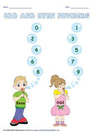 Odd And Even Chart Odd And Even Number Charts And Activities
