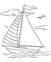 Small Picture Coloring Pages Fishing Boat Coloring Page Free Printable Coloring