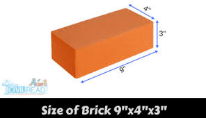size of a brick brickwork calculation calculator quantity of sand cement required