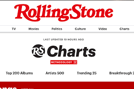 Rolling Stone Introduces New Music Charts