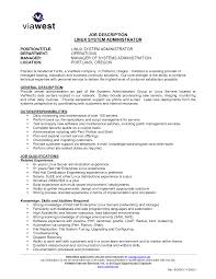 System Administrator Resume Sample Pdf Free Resume Example And
