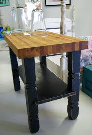 Rustic Kitchen Island Cart Kitchen Island Butcher Block Cart Best Kitchen Ideas 2017