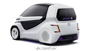 2018 toyota concept i ride self driving car for disabled people debuting at tokyo motor show 2017