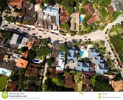 Brazilian Houses Top View Of Houses In Sao Sebastiao Brazil Stock Photo Image
