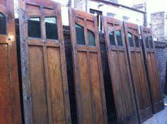 folding garage doors. 1930\u0027s Folding Wooden Oak Panel Garage Doors/Screens Glazed With Green Glass   EBay Doors T