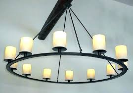 candle chandelier non electric chandeliers outdoor
