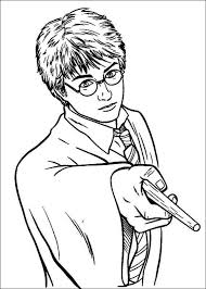 Small Picture Coloring Pages Harry Potter Coloring Pages Online