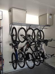 interior bike hangers for garage new storage in mtbr com throughout 7 from bike hangers