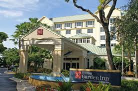 the hilton garden inn ft lauderdale airport cruise port hotel in dania fl is located just south of the fort lauderdale hollywood international airport