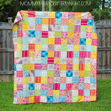 Mommy by day Crafter by night: AMH Little Folks Voile Quilt & I decided to make a square patchwork quilt first. I didn't dare slice and  dice those gorgeous fabrics too much! I went with a 6 inch squares to  create my ... Adamdwight.com