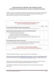 Project Proposal Template Free Example Of Scope In – Scopeinc
