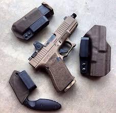 Stickman Magazine Holder Glock 100 Custom with RMR Incog holster spare mag holder Just 33