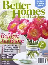 better homes and gardens subscription.  Subscription Free Subscription To Better Homes And Gardens Magazine On And E