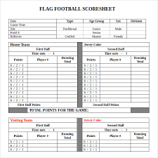Football Score Sheet Template Related Keywords Suggestions