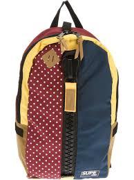 Supe Design Bag Zipped Backpack