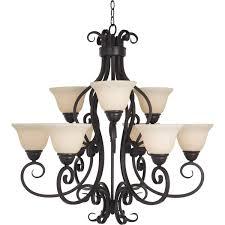 maxim manor 9 light oil rubbed bronze chandelier