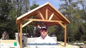 cedar pavilion kits. Delighful Pavilion Sonco Pools And Spas  Cedar Pavilion Kona Brown Roof With Fiberglass Pool On Pavilion Kits