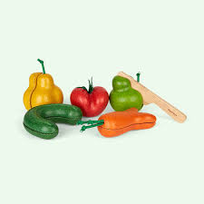 multi plan toys wonky fruit and vegetables