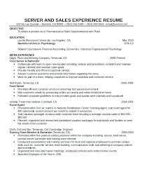 Waitress Resume Example Waitress Resume Responsibilities ...