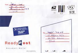 international mailing address format hope international