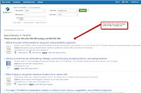 Cited Reference Searching In Psycinfo Psychology 85 103 The