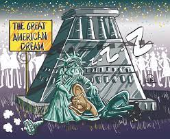 The Great American Dream !! | CARTOON MANIA !-- SMILE ASSURED. Kushal's  World Of Cartoon and Caricature.
