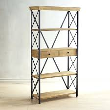 industrial bookcase ikea with library ladder vintage metal