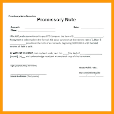 Demand Promissory Note Sample Fascinating International Promissory Note Template New Create A Free To Pay Debt