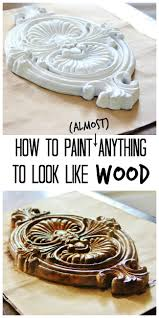 Wood Looking Paint How To Paint Anything To Look Like Wood Thistlewood Farm