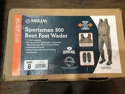 Magellan Mossy Oak New Bottomland Sportsman 800 Bootfoot Wader 8