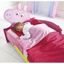 Peppa Pig Bedroom Furniture Character Snuggletime Junior Toddler Beds Three Mattress Option