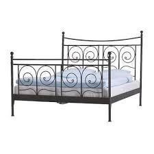 My bedframe - King size - Ikea-Noresund-Black-Metal-Bedframe   New ...