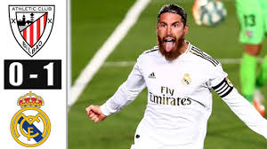Athletic Bilbao vs Real Madrid 0−1 - All Gоals & Extеndеd Hіghlіghts - 2020  (Ramos GOAL) - YouTube