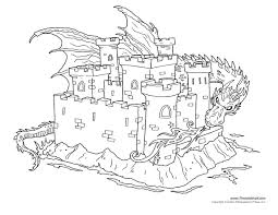 Small Picture Castle Coloring Page 3 Tims Printables