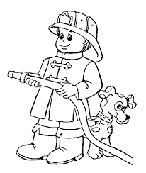 Small Picture Kids Firefighters Coloring Pages 30746 Bestofcoloringcom