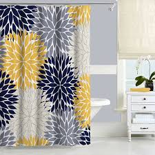 Uncategorized Navy Blue Shower Curtain For Exquisite Navy Blue