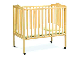 porta crib target delta children natural portable crib option 1 baby cribs target s open low