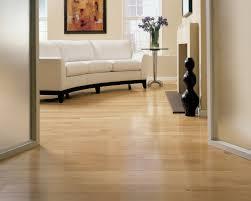 polished oak wood flooring