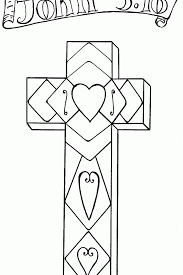 A lot of printable coloring pages can be available on just a couple of clicks on our website. Pictures Of Crosses To Color Coloring Home