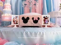 21 Best Baby Shower Images On Pinterest  Mickey Baby Showers Twin Boy And Girl Baby Shower Ideas
