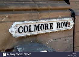 street sign furniture. Colmore Row, Street Sign Furniture, City Centre, Birmingham, England, UK Furniture