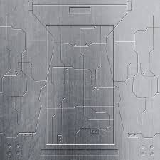 sci fi wall texture. Exellent Wall Download Scifi Wall Chrome Metal Wall And Circuits Background Stock  Illustration  On Sci Fi Texture