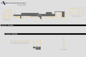 Mmmx Airport Charts File Mexico City Previous Terminal Layout Jpg Wikimedia