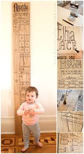 Diy Height Chart 10 Cool And Clever Diy Growth Charts To Make Baby Growth