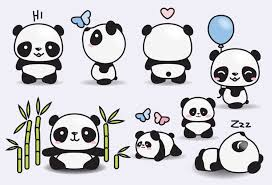 cute panda clipart. Brilliant Panda High Quality Vector Clipart Cute Pandas Clip Art Perfect For  Creating Greeting Cardsinvitations And Stationery Decorating Your Blog Or Website  On Panda Clipart
