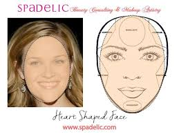 contouring and highlighting for a heart shaped face makeup artistry contour spadelic